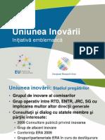 Uniunea Inovarii Initiativa Emblematica UE