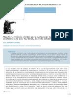 Monitorio y juicio verbal para sustanciar la oposición.pdf