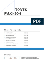 Askep Teoritis Parkinson