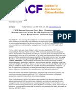 Ed Brief Press Release 11.14.2018