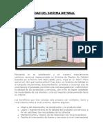 Calidad Del Sistema Drywall