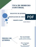 Práctica en Derecho Concursal 17.10.17