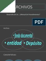 PONENCIA. Desarrollo de Un Manual de Procedimientos