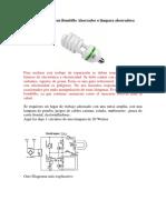 Reparar Un Bombillo Ahorrador o Lámpara Ahorradora