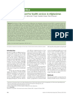 Articulo - A balanced scorecard for health services in Afghanistan - 2007.pdf
