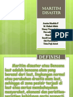 PPR Maritime Disasater