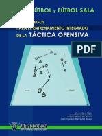 96 Juegos Para El Entrenamiento de La Tactica Ofensiva en Futbol y Futbol Sala