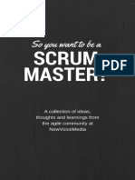 So you want to be a scrum master