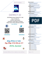 District 22 Newsletter December 2018