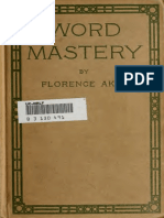 Word Mastery