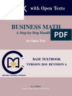Olivier BusinessMath 2018A