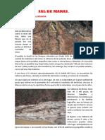 Informe de Sal de Maras