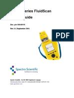100-00119 Rev a Q1200-Series FluidScan User's Guide
