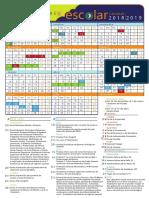 Calendario Escolar 18 19