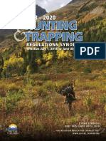 Hunting Trapping Synopsis 2018 2020