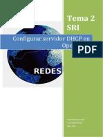 Configurar Servidor Dhcp en Opensuse