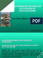 Exploraciones Mineras - 2017