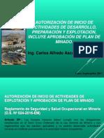 Autorizaciones Mineras - 2017
