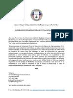 JSAFPR Declaraciones ReformaContributiva 12-10-18