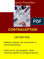 pregnancy prevention