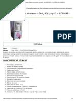 Maquina de Helados, Máquina de Helados de Crema - Soft, BQL 325-D – CON PRE-EnFRIAMIENTO