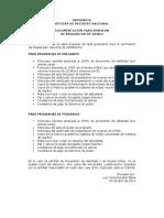 Copia Documentacion Exigida Grados Uniminuto Julio 2014