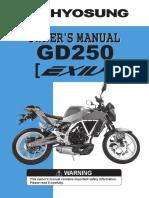 Exiv 250 Owner Manual