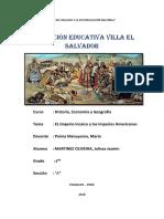 El Imperio Incaico Administracion