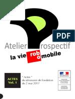 Actes Séminaire Fondation La Vie Robomobile