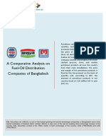 A Comparative Analysis on Fuel-Oil Distribution Companies of Bangladesh