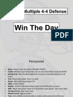 Multiple 4-4 Defense