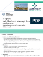 SDOT 2018 Intercepts Report