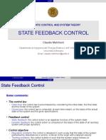 07 State Feedback Control