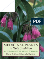 Medicinal Plants in Folk Tradition