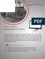 Fixed Assets Plus brochure