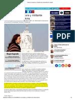 Falleció La Luchadora y Militante Trans Lohana Berkins _ Cba24n