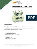 Compresor Schulz 2 HP