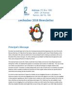 abd december 2018 newsletter