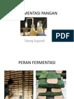 FERMENTASI PANGAN