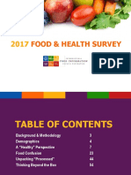 2017 Food and Health Survey - Final Report