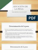 Graduación de La Pena
