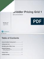 Griddler Pricing Grid 1 v.1.0