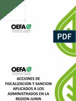 Acciones Fiscalizacion y Sancion Junin Mar13 13may13