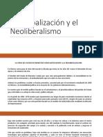 La Globalización y El Neoliberalismo