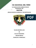 Silabo Final de Policia Comunitaria - Honestidad