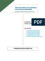 p3 - Comunicación Asertiva Dentro de Las Organizaciones