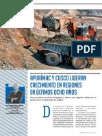 Cusco Apurimac Ultimos 8 Años Economia
