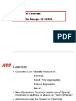 Principles of Concrete Mix Design