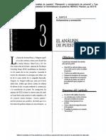 """05) Dessler, Gary. (2001). """"El Análisis de Puestos"""", """"Planeación y Reclutamiento de Personal"""", """"Las Pruebas y La Selección de Empleados"""" en Administración de Personal. México Pearson, Pp. 83-215"""