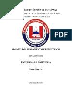 Magnitudes Fundamentales Electricas
